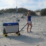 Beach-Wagon-Cart-for-Sand-with-Wheels-All-Terrain-Haul-Cooler-Umbrella-Chair-0-0