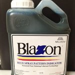 Blazon-Blue-Spray-Pattern-Indicator-Non-Staining-1-Gallon-0