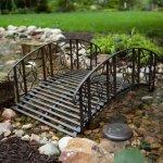 Coral-Coast-Coral-Coast-Willow-Creek-4-ft-Metal-Garden-Bridge-Metal-0