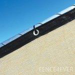 Fence4ever-8-x-50-3rd-Gen-Tan-Beige-Fence-Privacy-Screen-Windscreen-Shade-Fabric-Mesh-Tarp-Aluminum-Grommets-0