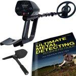 ForagerGO-Waterproof-Metal-Detector-Starter-Kit-Bundle-with-Shovel-and-Metal-Detecting-Guide-0