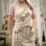 Garden-Girl-USA-Full-Gardening-Apron-One-Size-Roses-Tan-0-0