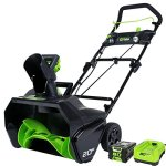 GreenWorks-Pro-80V-20-Snow-Thrower-w-2Ah-Battery-Charger-0