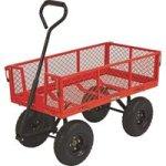 Ironton-Steel-Cart-34inL-x-18inW-400-Lb-Capacity-0-0