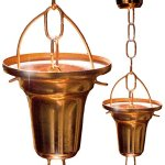 Rain-Chain-Pure-Copper-by-Golden-Canary-6-Foot-Long-Ready-to-Install-in-Gutter-Decorative-Downspout-Replacement-for-Collecting-Water-in-a-Barrel-0-2