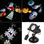 SENQIAO-Projector-Light-12-Pattern-LED-Landscape-Light-Waterproof-Garden-Lamp-Projection-Lighting-for-Halloween-Christmas-Holiday-Party-Garden-Decoration-0