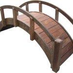 SamsGazebos-Miniature-Japanese-Treated-Wood-Garden-Bridge-29-Inch-Brown-0