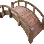 SamsGazebos-Miniature-Japanese-Wood-Garden-Bridge-Treated-Assembled-25-Long-X-11-Tall-X-11-12-Wide-Made-in-USA-0