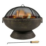Sunnydaze-30-Inch-Firebowl-Fire-Pit-with-Handles-and-Spark-Screen-0