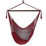 Sunnydaze-Hanging-Caribbean-XL-Hammock-Chair-0