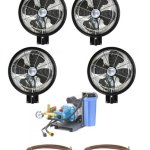 4-HIGH-PRESSURE-18-Oscillating-Misting-Fans-Wall-Mount-Mist-Kit-0
