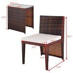 Alitop-3-PCS-Cushioned-Outdoor-Wicker-Patio-Set-Seat-Brown-Garden-Lawn-Sofa-Furniture-0-1