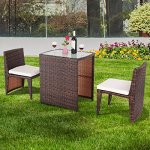 Alitop-3-PCS-Cushioned-Outdoor-Wicker-Patio-Set-Seat-Brown-Garden-Lawn-Sofa-Furniture-0-2