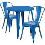 BOWERY-HILL-3-Piece-30-Round-Metal-Patio-Dining-Set-in-Blue-0