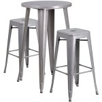 BOWERY-HILL-Round-Patio-Bistro-Set-in-Gray-0