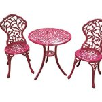 CC-Outdoor-Living-3-Pc-Sturdy-Pink-Aluminum-Scroll-and-Leaf-Design-Bistro-Set-0