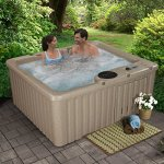 Essential-Hot-Tubs-Newport-14-Jets-Lounger-Rotationally-Molded-Cobblestone-0-0