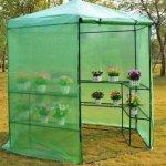 GHP-Dark-Green-785-x-825H-Greenhouse-w-Powder-Coated-Steel-Frame-0-1