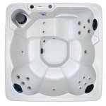 Hudson-Bay-6-Person-19-Jet-Spa-with-Stainless-Jets-and-110V-GFCI-Cord-Included-0