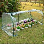 Light-green-7x3x3-Greenhouse-Mini-Portable-Gardening-Flower-Plants-Yard-Hot-House-Tunnel-0