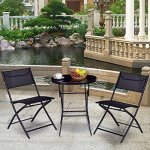 MyEasyShopping-New-Table-Outdoor-Chairs-and-Table-Furniture-Black-Garden-Patio-Picnic-Set-0-1