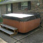 Spa-Hot-Tub-Cover-Cap-SunShield-78-x-78-Viking-LBI-Hotspring-Protector-Video-0-0