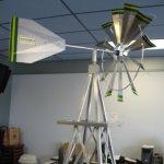 8-Ft-Premium-Aluminum-Decorative-Garden-Windmill-Green-Trim-0-1