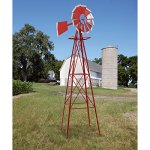 8ft-Ornamental-Garden-Windmill-Red-and-White-0-1