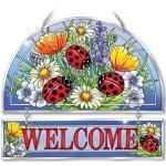 Amia-Beveled-Glass-Hospitality-Panel-Hand-Painted-Ladybug-Design-12-by-11-Inch-0