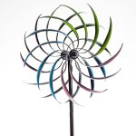 Bits-and-Pieces-The-Original-Rainbow-Wind-Spinner-Decorative-Lawn-Ornament-Wind-Mill-Tri-Colored-Kinetic-Garden-Spinner-0-1
