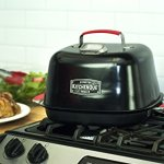 Charcoal-Companion-CC4132-KitchenQue-Indoor-Stovetop-Smoker-155-x-127-x-97-Black-0-0