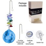 CrystalPlace-Crystal-Ornament-45-inch-Suncatcher-Blue-Sapphire-Faceted-Ball-Prism-Rainbow-Maker-Crystal-Cascade-Made-with-Swarovski-Crystals-0-1