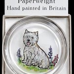 Decorative-Hand-Painted-Stained-Glass-Paperweight-in-a-West-Highland-Terrier-Design-0