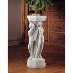 Design-Toscano-Column-of-Maenads-Display-Pedestal-Sculpture-29-Inch-Polyresin-Antique-Stone-0