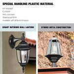 EMART-Outdoor-Porch-Light-LED-Exterior-Wall-Light-Fixtures-Special-Handling-Anti-Corrosion-Plastic-Material-Waterproof-Security-Lamp-for-Wall-Garage-Front-Porch-2-Pack-0-1