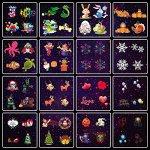 ElementDigital-Laser-Projector-Lights-Landscape-Christmas-Lights-Moving-Snowflake-LED-Outdoor-Landscape-Laser-Projector-Lamp-Garden-Xmas-Light-UL-Listed-16-Patterns-0-2
