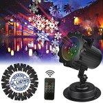 ElementDigital-Laser-Projector-Lights-Landscape-Christmas-Lights-Moving-Snowflake-LED-Outdoor-Landscape-Laser-Projector-Lamp-Garden-Xmas-Light-UL-Listed-16-Patterns-0