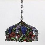 FUMAT-Tiffany-Pendant-Lights-E26-LED-Stained-Glass-Hanging-Light-Fixtures-16-Rose-Chandelier-Lighting-110V-Ceiling-Pendant-Lamp-0-1