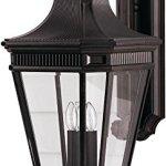 Feiss-OL5404GBZ-LED-Cotswold-Lane-LED-Outdoor-Patio-Lighting-Wall-Lantern-Bronze-1-Light-12W-x-30H-0