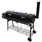 Festnight-Offset-Smoker-BBQ-Nevada-Black-0