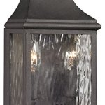 Forged-Jefferson-2-Light-Outdoor-Sconce-in-Charcoal-0