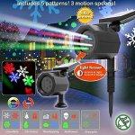Ideaworks-Lightfest-Celebration-Light-Decorative-Light-Projector-Christmas-Halloween-Thanksgiving-General-Celebration-Patriotic-Solar-Powered-0-0