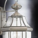 Luxury-Colonial-Outdoor-Wall-Light-Large-Size-20H-x-105W-with-Tudor-Style-Elements-Versatile-Design-Classy-Aged-Silver-Finish-and-Beveled-Glass-UQL1145-by-Urban-Ambiance-0-2