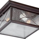 Nuvo-Lighting-Vega-Large-One-Light-Wall-Lantern-100-watt-A19-Outdoor-Porch-and-Patio-Lighting-with-Clear-Seeded-Glass-0