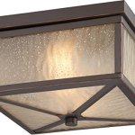 Outdoor-Wall-Sconces-2-Light-with-Mahogany-Bronze-Finish-Omni-21-inch-196-Watts-0