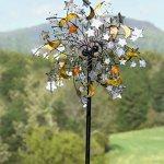 Plow-Hearth-54322-Celestial-Confetti-Garden-Wind-Spinner-0-1