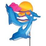 Premier-Kites-59115-Garden-Charm-Sunset-Dolphins-30-Inch-0