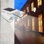Solar-Powered-Lights-ICOCO-PIR-Motion-Sensor-Dual-Head-Spotlight-Adjustable-Waterproof-14-LED-Wall-Light-for-Deck-Yard-Garden-Driveway-Auto-OnOff-0