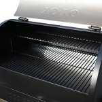 Tenive-679sq-22K-BTU-Wood-Pellet-Grill-Smoker-2-Levels-Cooking-Rack-3-Year-Warranty20-Lbs-Hopper-Capacity-BBQ-Grills-w-Digital-Thermostat-Controller-and-Electronic-Auto-start-Ignition-0-2