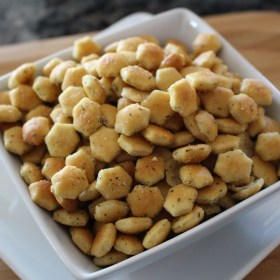 Church Cookbook Classics:  Oyster Snack Crackers
